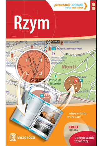 Okładka książki/ebooka Rzym. Przewodnik-celownik. Wydanie 2