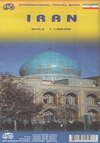 Okładka książki/ebooka Iran. Mapa ITMB 1:1 800 000