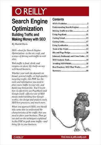 Okładka książki/ebooka Search Engine Optimization