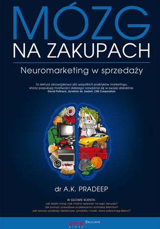 Okładka książki/ebooka Mózg na zakupach. Neuromarketing w sprzedaży