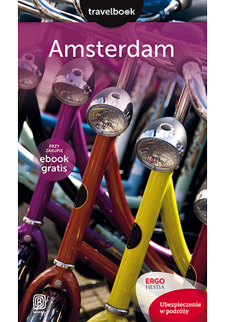 Okładka książki Amsterdam. Travelbook. Wydanie 1
