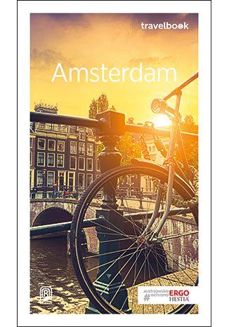 Okładka książki Amsterdam. Travelbook. Wydanie 2
