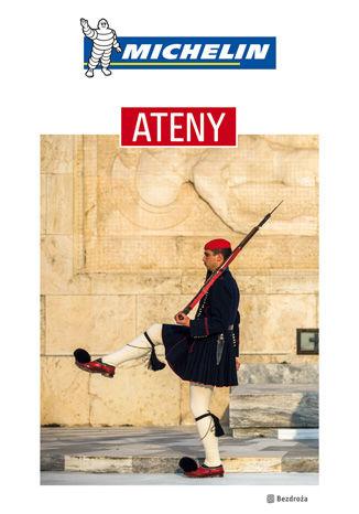 Okładka książki Ateny. Michelin. Wydanie 1