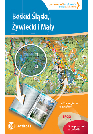 Okładka książki Beskid Śląski, Żywiecki i Mały. Przewodnik-celownik. Wydanie 1