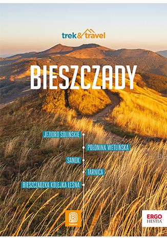 Okładka książki Bieszczady. trek&travel. Wydanie 1