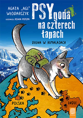 Okładka książki/ebooka PSYgoda na czterech łapach. Diuna w Himalajach