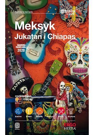 Okładka książki Meksyk. Jukatan i Chiapas. #Travel&Style. Wydanie 1