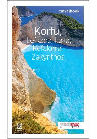 Okładka książki Korfu, Lefkada, Itaka, Kefalonia, Zakynthos. Travelbook. Wydanie 3