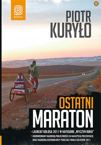 Okładka książki Ostatni maraton. Książka z autografem
