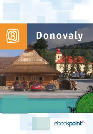 Okładka książki Donovaly. Miniprzewodnik