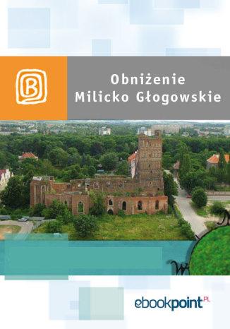 Okładka książki Obniżenie Milicko-Głogowskie. Miniprzewodnik