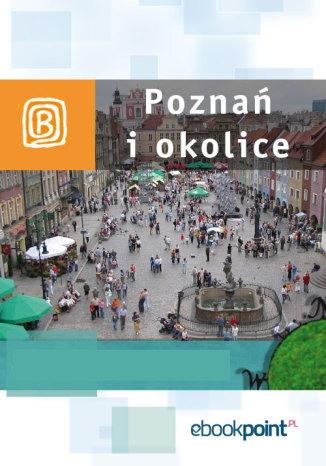 Okładka książki Poznań i okolice. Miniprzewodnik