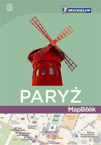 Okładka książki/ebooka Paryż. MapBook. Wydanie 1