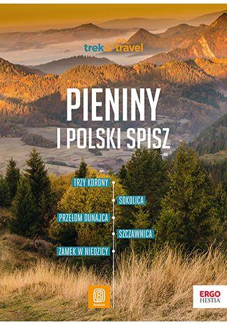 Okładka książki Pieniny i polski Spisz. Trek & Travel. Wydanie 1