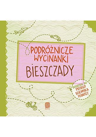 Okładka książki/ebooka Podróżnicze wycinanki. Bieszczady. Wydanie 1