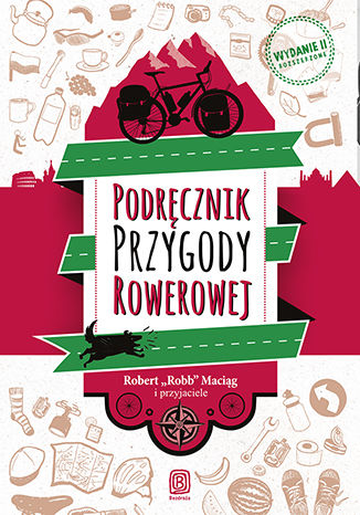 Okładka książki/ebooka Podręcznik Przygody Rowerowej. Wydanie II