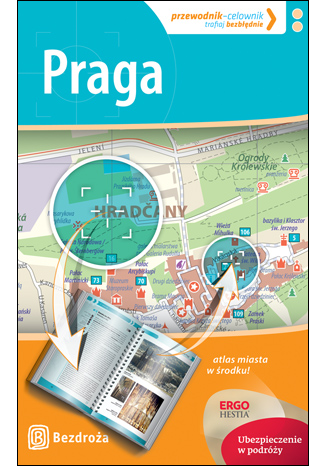 Okładka książki/ebooka Praga. Przewodnik-celownik. Wydanie 2