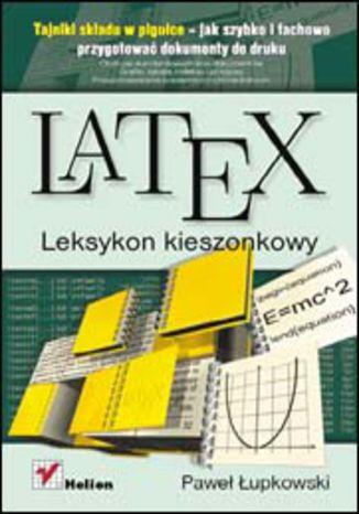 Okładka książki/ebooka LaTeX. Leksykon kieszonkowy