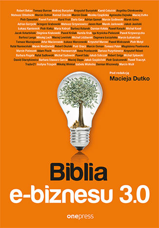Okładka książki/ebooka Biblia e-biznesu 3.0