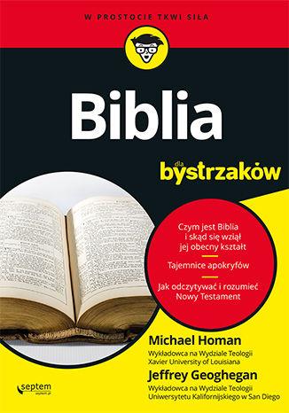 Okładka książki/ebooka Biblia dla bystrzaków