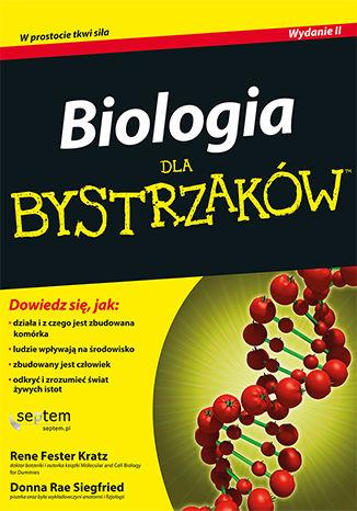 Okładka książki/ebooka Biologia dla bystrzaków. Wydanie II