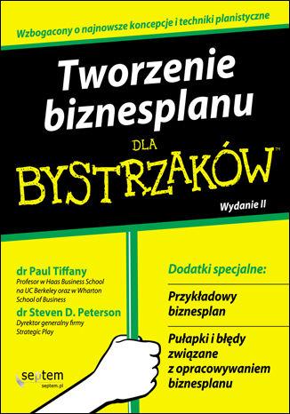 Okładka książki Tworzenie biznesplanu dla bystrzaków