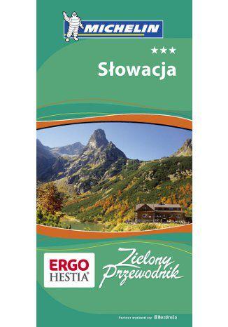 Okładka książki Słowacja. Zielony Przewodnik Michelin