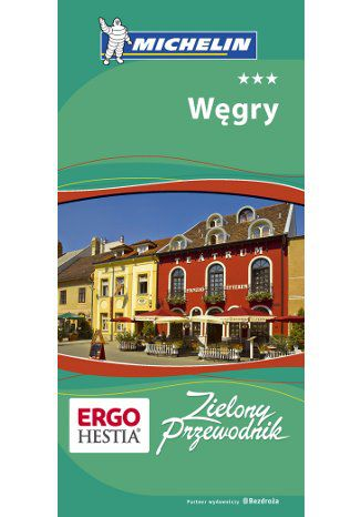 Okładka książki/ebooka Węgry. Zielony Przewodnik Michelin
