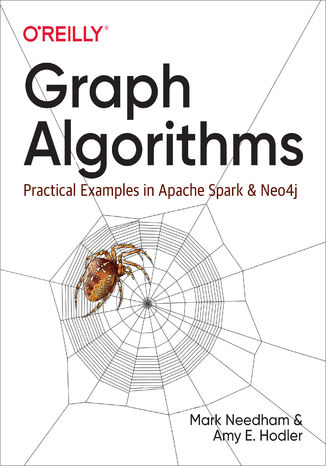 Okładka książki/ebooka Graph Algorithms. Practical Examples in Apache Spark and Neo4j