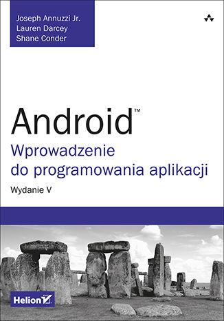 Okładka książki/ebooka Android. Wprowadzenie do programowania aplikacji. Wydanie V