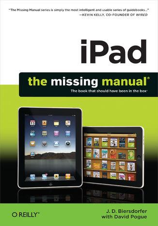 Okładka książki/ebooka iPad: The Missing Manual. The Missing Manual