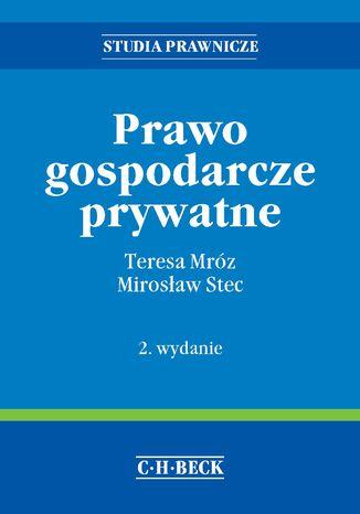 Okładka książki/ebooka Prawo gospodarcze prywatne