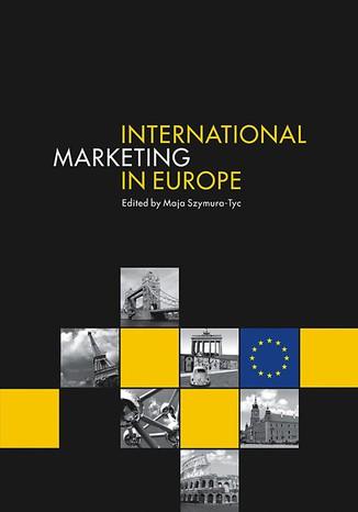 Okładka książki/ebooka International Marketing in Europe