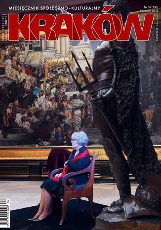 Okładka książki/ebooka Miesięcznik Kraków kwiecień 2016