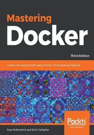 Okładka książki/ebooka Mastering Docker