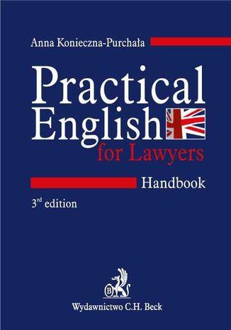 Okładka książki/ebooka Practical English for Lawyers. Handbook. Język angielski dla prawników