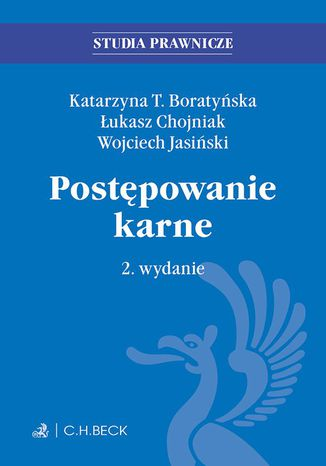 Okładka książki/ebooka Postępowanie karne. Wydanie 2