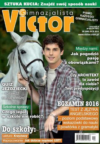 Okładka książki/ebooka Victor Gimnazjalista nr 20 (400)