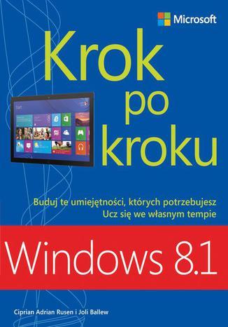 Okładka książki/ebooka Windows 8.1 Krok po kroku