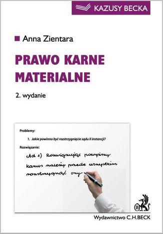 Okładka książki/ebooka Prawo karne materialne. Wydanie 2
