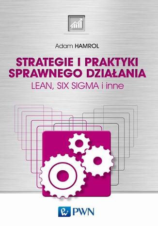 Okładka książki/ebooka Strategie i praktyki sprawnego działania. LEAN, SIX SIGMA i inne