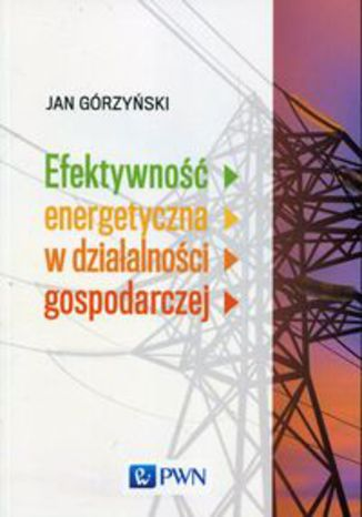 Okładka książki Efektywność energetyczna w działalności gospodarczej
