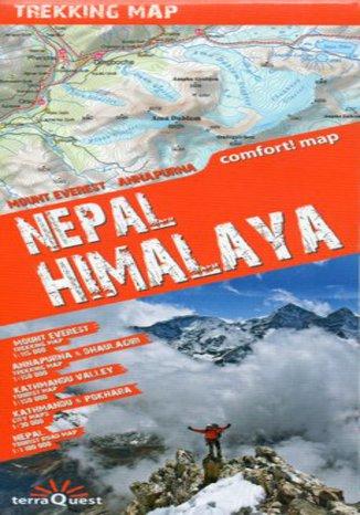 Okładka książki/ebooka Nepal, Himalaje. Mapa Terraquest 1:100 000 / 1:150 000