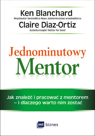 Okładka książki/ebooka Jednominutowy Mentor