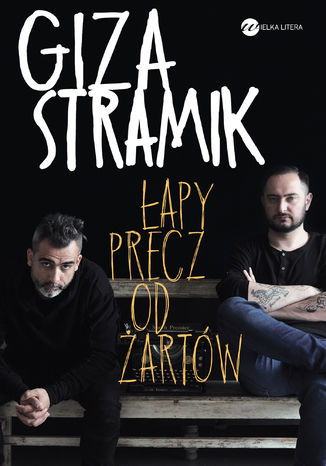 Okładka książki/ebooka Łapy precz od żartów