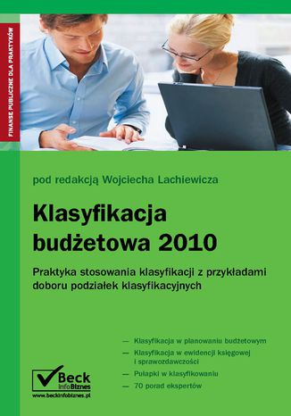 Okładka książki/ebooka Klasyfikacja budżetowa 2010