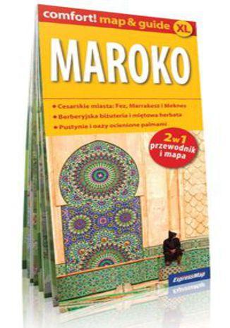 Okładka książki/ebooka Maroko 2w1 Przewodnik+mapa