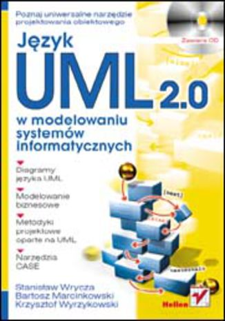 Okładka książki/ebooka Język UML 2.0 w modelowaniu systemów informatycznych