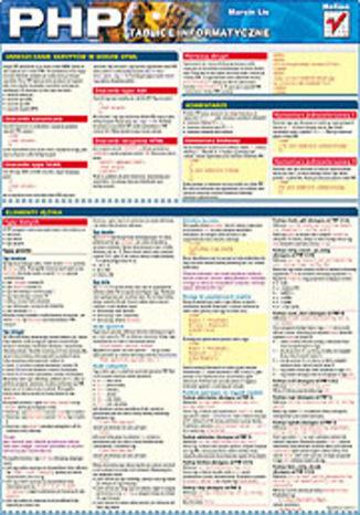 Okładka książki/ebooka Tablice informatyczne. PHP