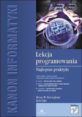 Okładka książki/ebooka Lekcja programowania. Najlepsze praktyki